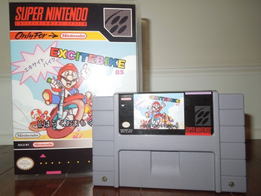 BS Excitebike for SNES