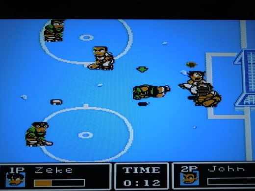 Ice Challenge: Multi-Sport Melee for NES