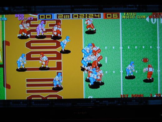 Tecmo Bowl Arcade, playable on the Tecmo Classics Arcade disc for the original Xbox