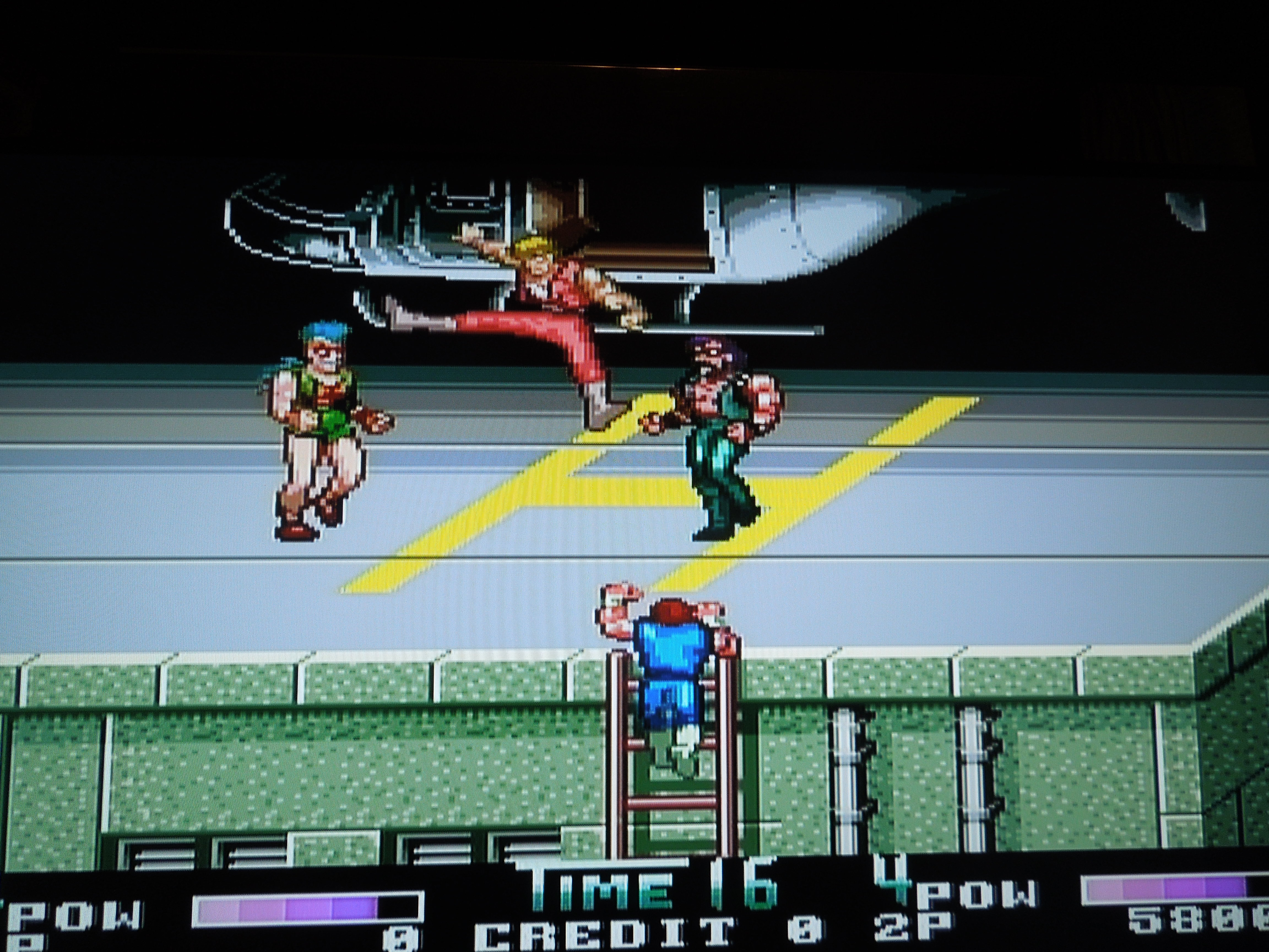 Pc Engine Super Cd Rom Double Dragon Ii The Revenge Obscure