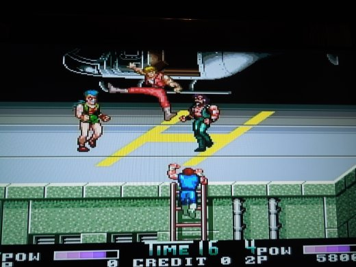 Double Dragon II: The Revenge for the PC Engine Super CD-ROM