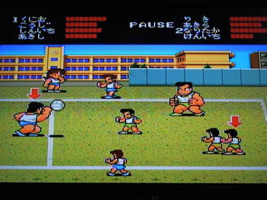 Super Dodge Ball for the PC Engine