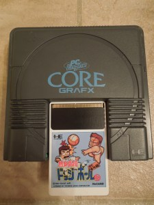 PC Engine Hu-cards (like SDB) are extremely compact, just like the console itself.