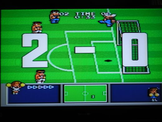 Nekketsu High School Soccer for the Sega Mega Drive