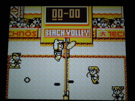 Nekketsu Beach Volleyball dayo Kunio-kun for Game Boy