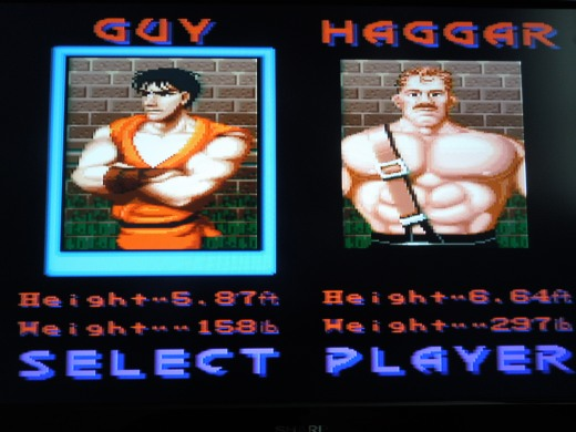 Final Fight Guy for the Super Famicom