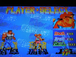 Each character has their own strengths and weaknesses, like in most of these type of games.