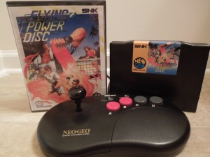 Flying Power Disc was released in Japan.  In the U.S., the game was called Windjammers.