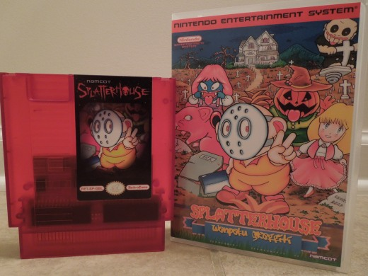 Splatterhouse for the Nintendo Entertainment System