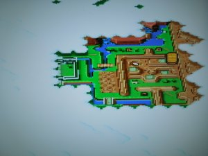 Only a small portion of the Overworld is avaliable to you in Chapter 1.