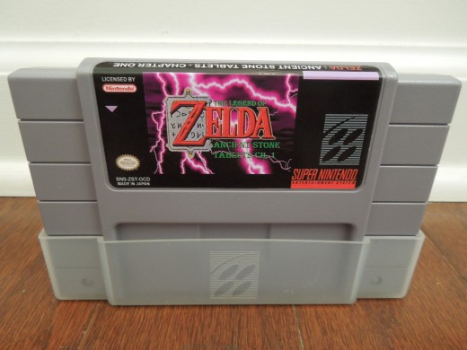 BS Legend of Zelda: Ancient Stone Tablets, Chapter 1 for SNES
