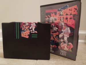 This AES cartridge was converted from an arcade MVS cartridge.