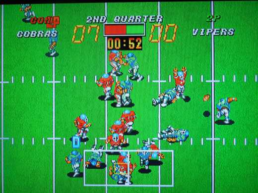 Football Frenzy for the Neo Geo AES