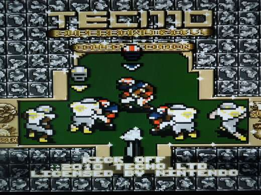 Tecmo Super Bowl III: NCAA 2011 for the Super Nintendo