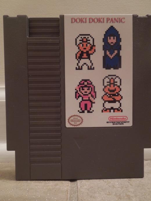 Doki Doki Panic for NES