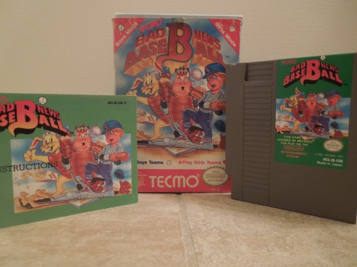 Bad News Baseball for NES