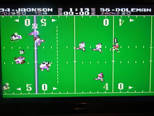 As if Bo Jackson's Tecmo Bowl Legacy needed any improvement, he's even faster in TB Japan.