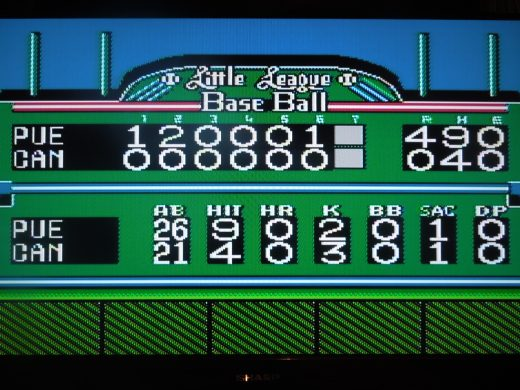 You'll only play 6 innings (unless tied) per Little League rules.