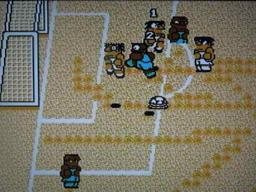 Arguably the best soccer game on the NES.