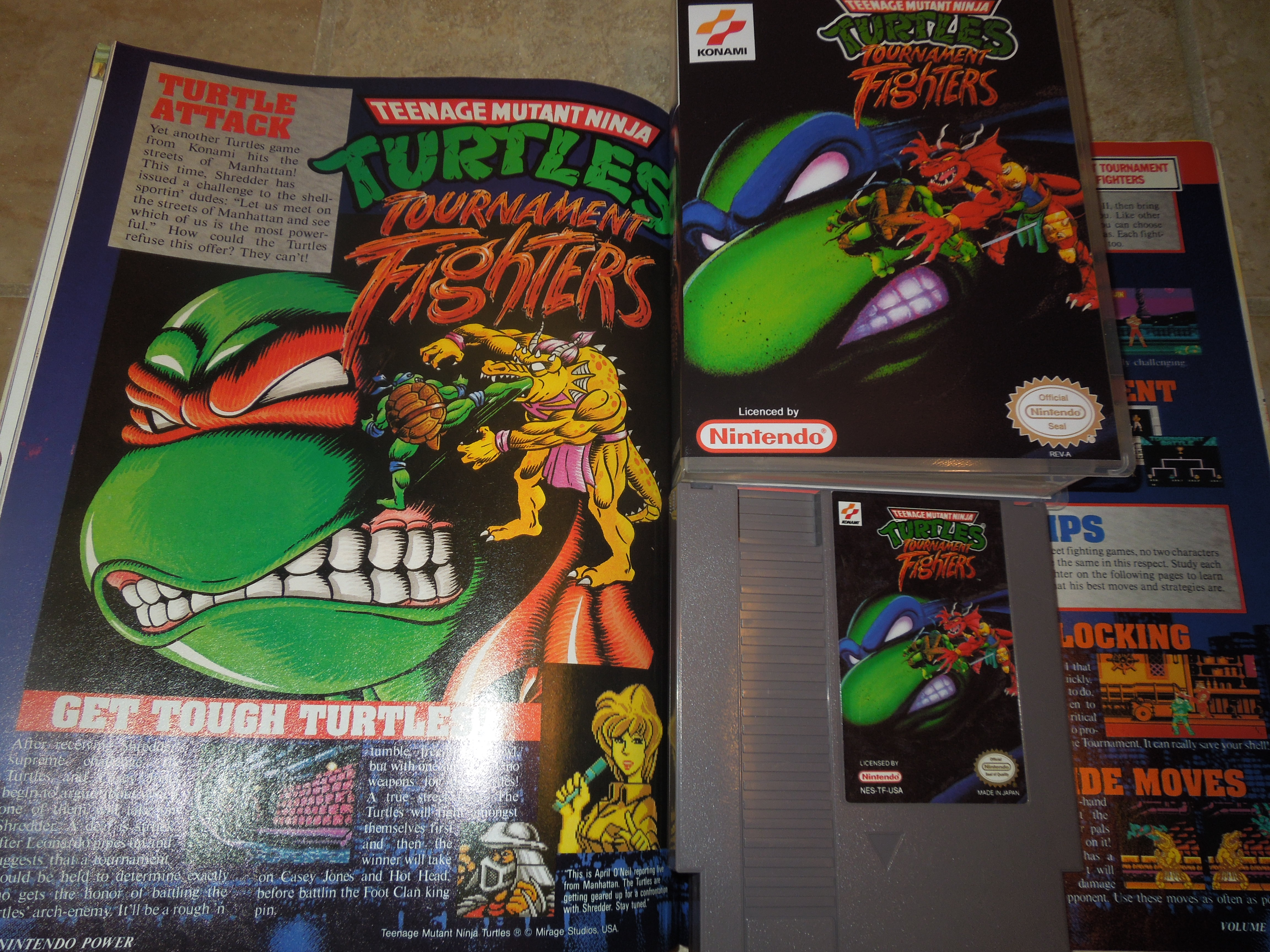 Nes Teenage Mutant Ninja Turtles Tournament Fighters
