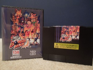 Neo Bomberman was an MVS arcade exclusive game in 1997, but today, can be converted into an AES home console cartridge.