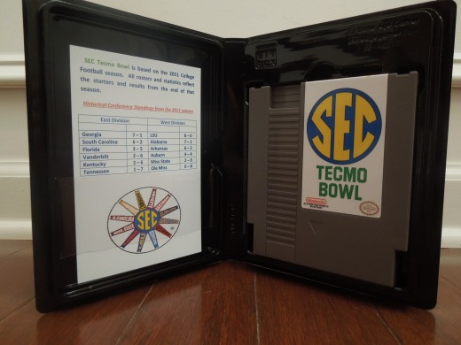 SEC Tecmo Bowl for the NES