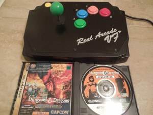 Shadow over Mystara and the Saturn's Real Arcade VF dash controller (see my review of the controller) are a great match.