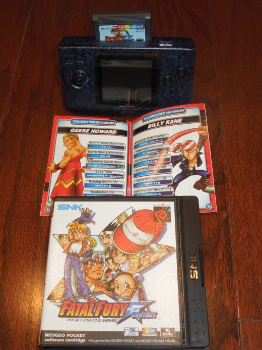 Fatal Fury: First Contact for the Neo Geo Pocket Color