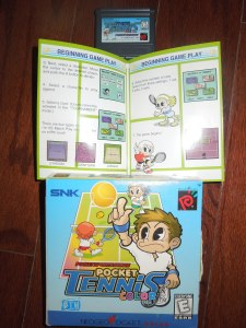There aren't many games that are easier to pick up and play than Pocket Color Tennis.