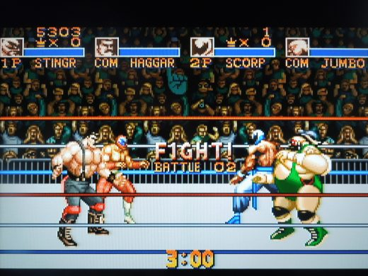 Saturday Night Slam Masters for the SNES