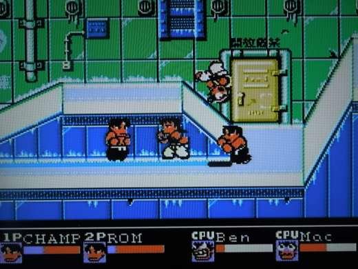 Riki Kunio for the NES