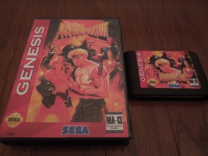 Bare Knuckle III was formerly only available in Japan, but today, translated reproduction cartridges allow the game to be played on the U.S. Sega Genesis.