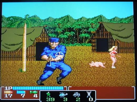 Operation Wolf for the PC Engine