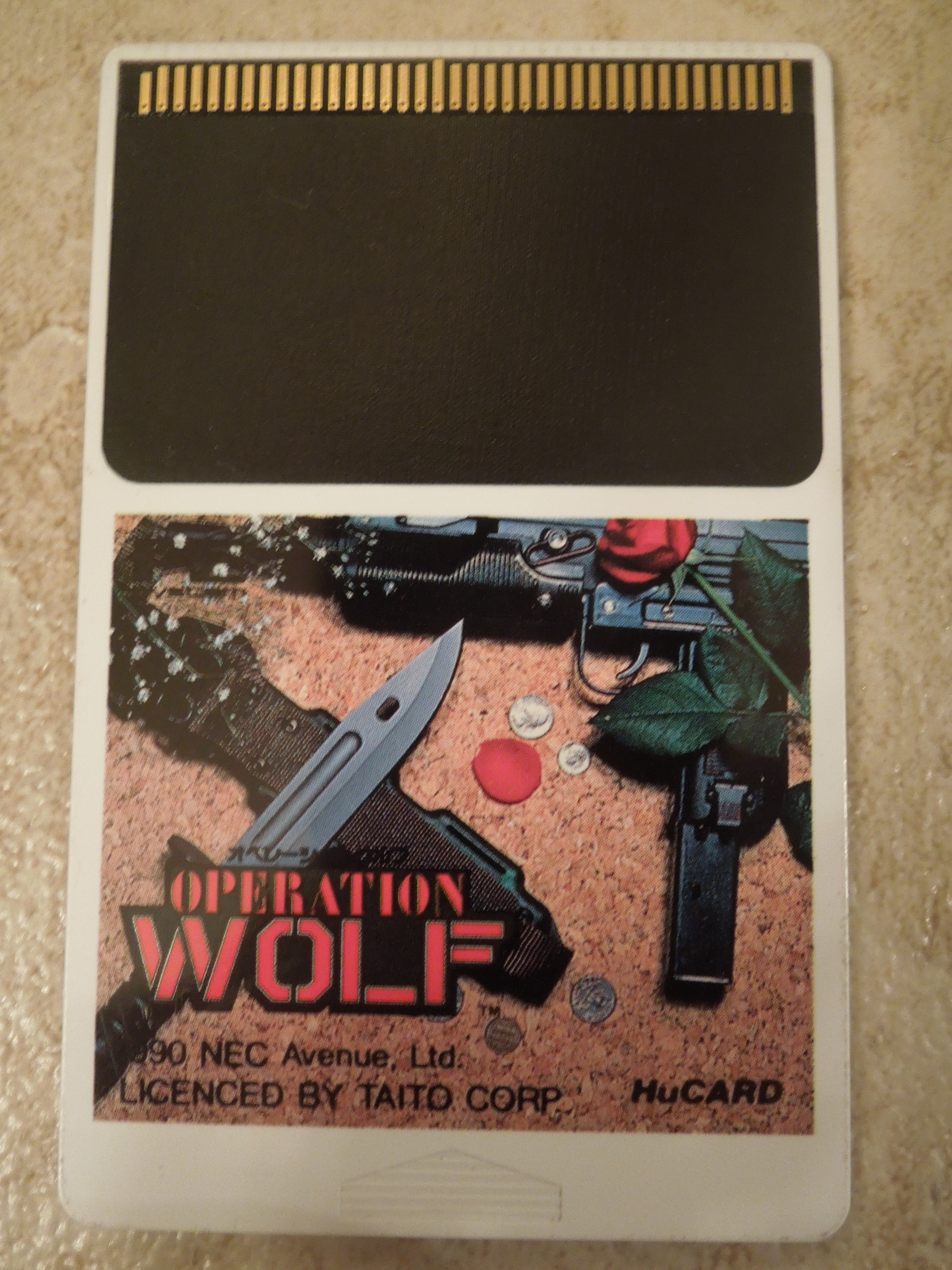PC Engine – Operation Wolf | Obscure Video Games