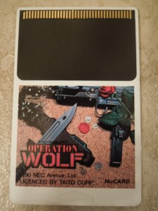 The PC Engine version of Operation Wolf trumps the NES version.