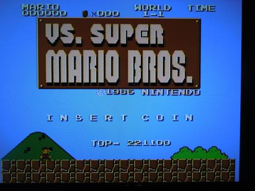 VS. Super Mario Bros. for the NES
