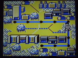 A map screen shows your progress between levels.