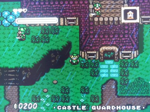 The game begins much like A Link to the Past - you must rescue Zelda.  This time, however, she's being held in the Guard House.