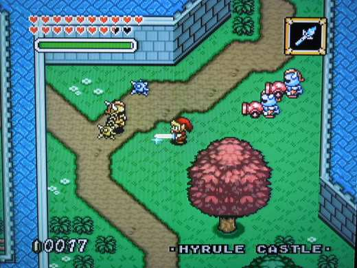 The Legend of Zelda: Parallel Worlds Remodel for the SNES