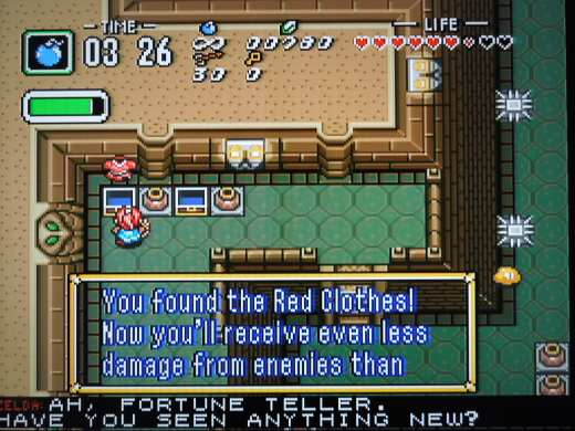Don't leave Dungeon 6 without the Red Mail.