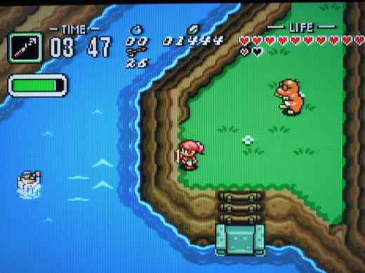 BS Legend of Zelda: Ancient Stone Tablets, Chapter 3 for the Super Nintendo.
