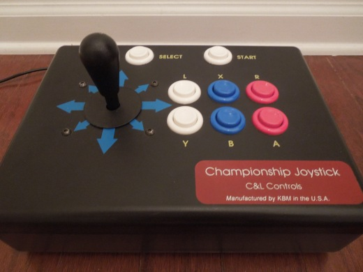 The C & L Championship Joystick for the SNES