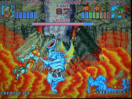 King of the Monsters 2 for the Neo Geo AES