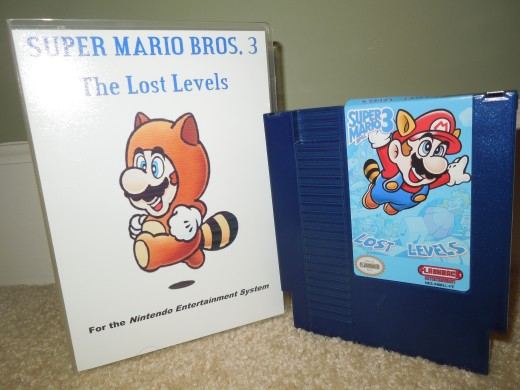 Super Mario Bros 3: The Lost Levels for the NES