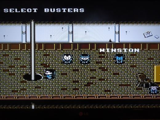 Select a 2-man team from the 5 available Ghostbusters.
