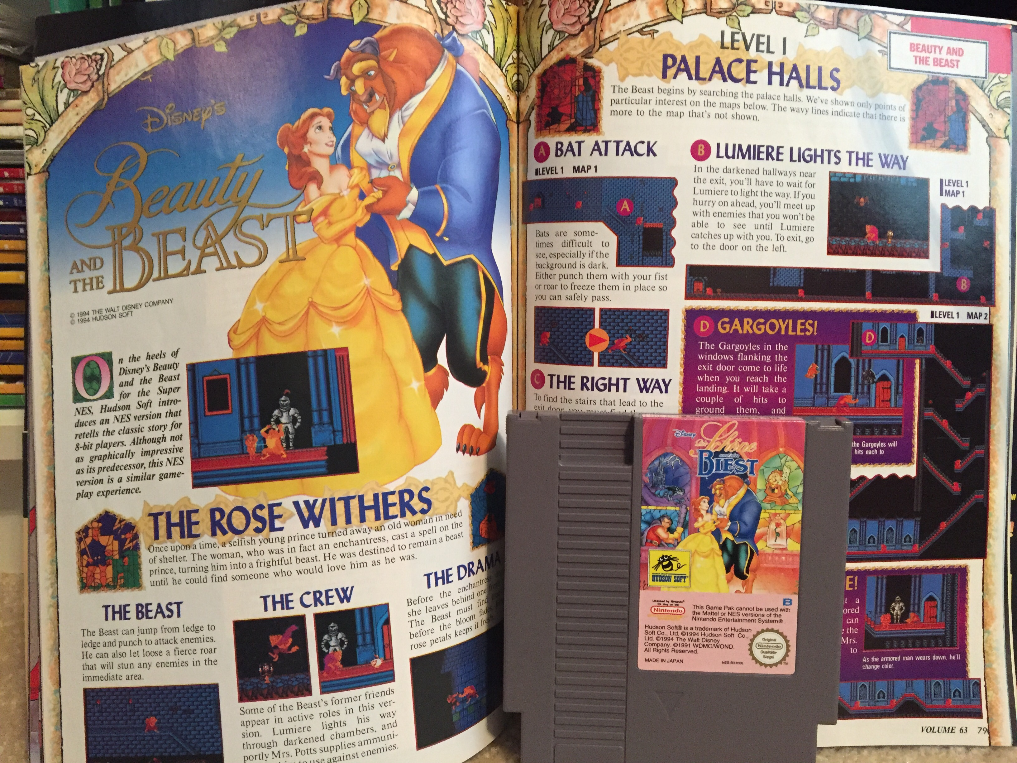 NES – Beauty & the Beast | Obscure Video Games